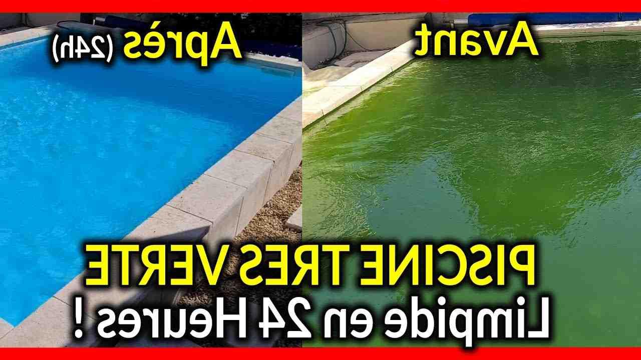 Pourquoi une piscine au sel devient verte ?